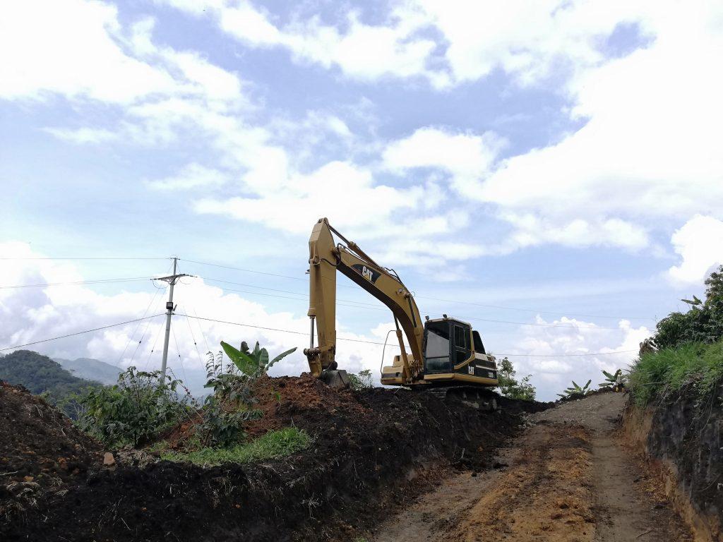 Carretera a la mina