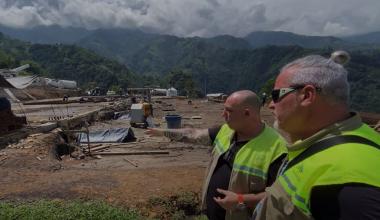 visita a la mina Guayaquil